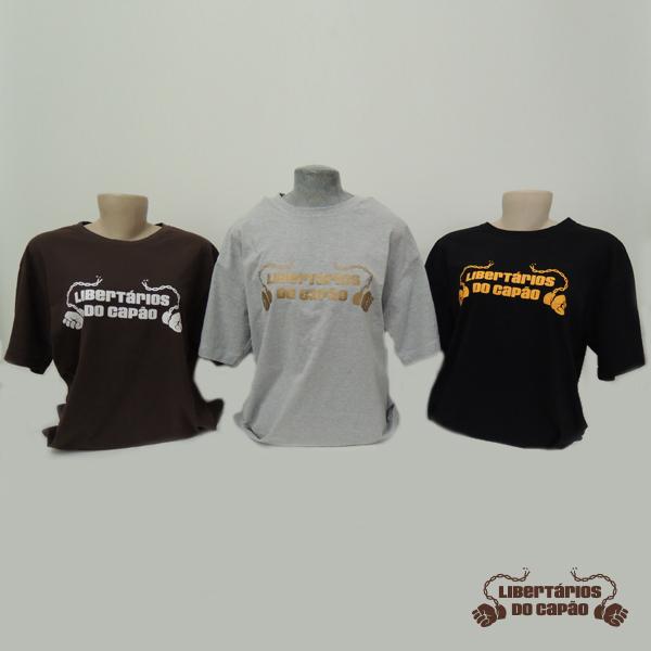 Kit Camisetas Libertários do Capão