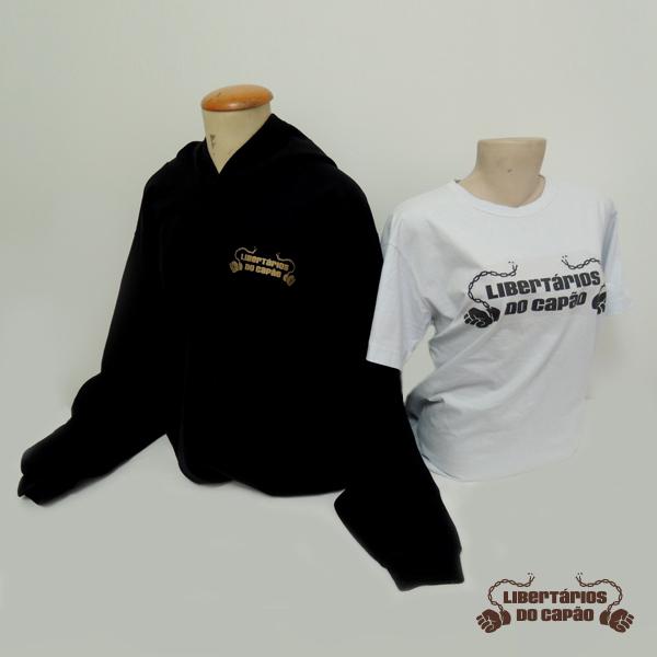 Kit Moletom e Camiseta